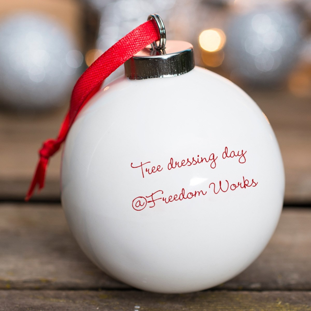 christmas tree dressing day 2017 freedom works
