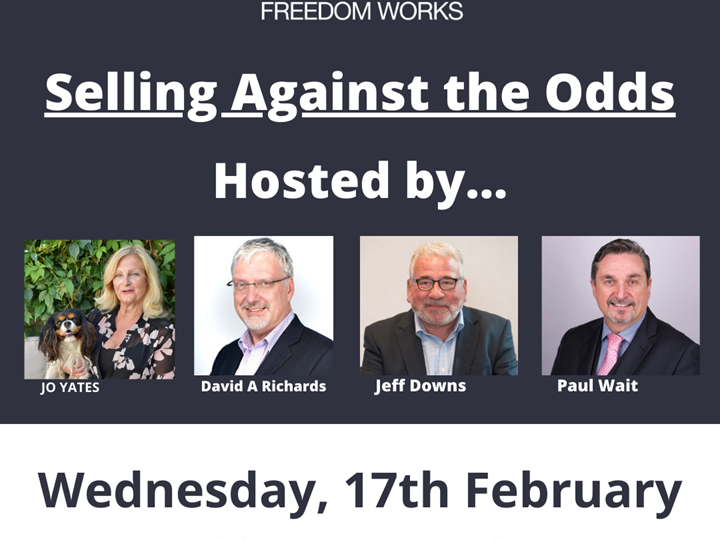Webinar - Selling Against the Odds